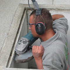 Bauhandwerker bei modasafe